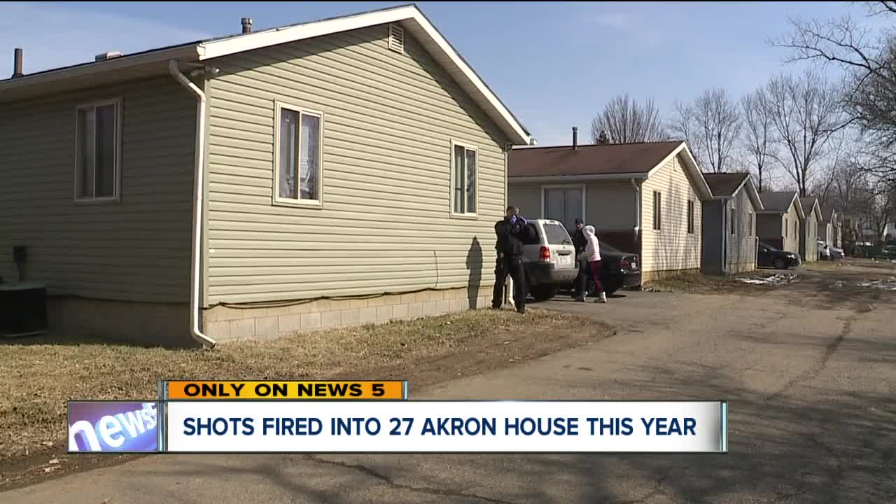 Akron police are trying to find answers after shots have been fired into 27 homes in past 2 months including shootings that killed a father of four and