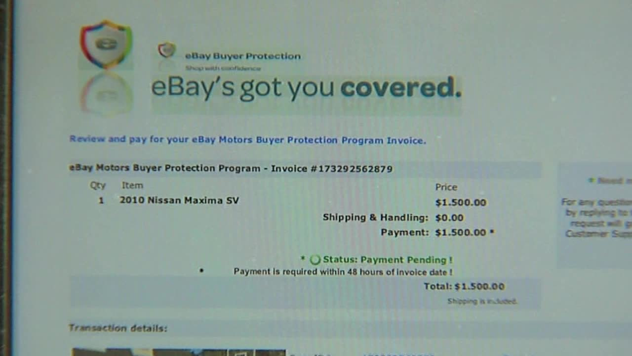Ebay Motors Scam Costs Woman 500