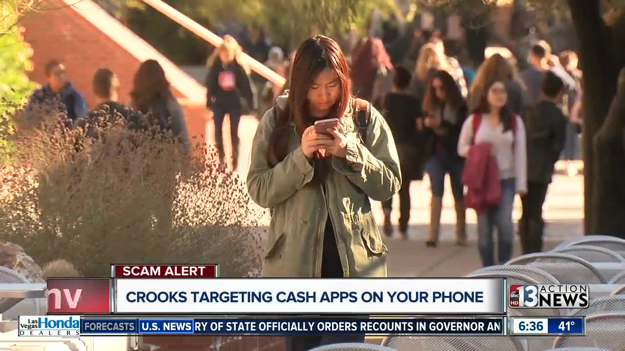 Scammers target cash app users