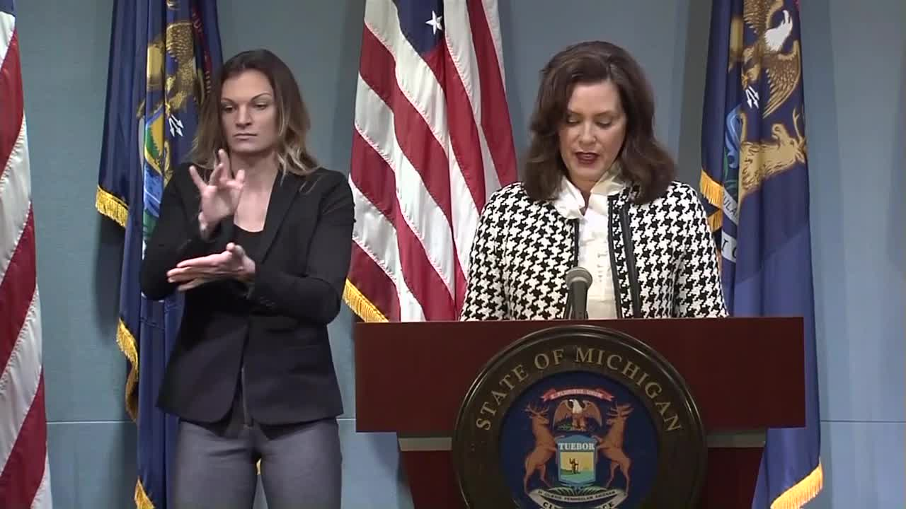 Gov Whitmer Responds To Boat Controversy Saying Her Husband Made A Failed Attempt At Humor
