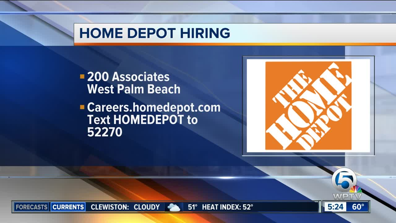 Home Depot Looking To Hire As Spring Nears