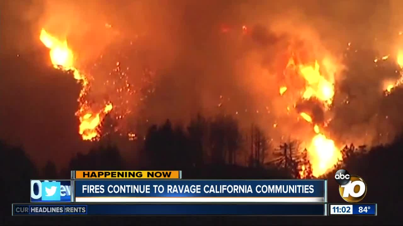 Interactive Map Current Wildfires Burning Throughout California