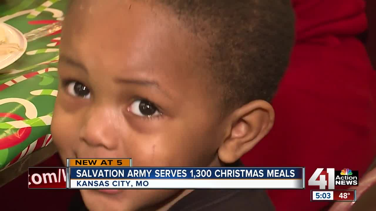 Salvation Army serves hundreds at 29th annual Christmas dinner