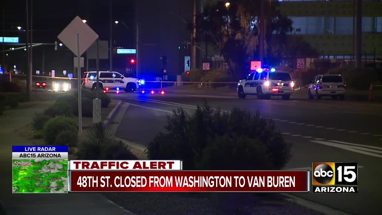 PD: Crash near 48th Street and Washington leaves driver with
