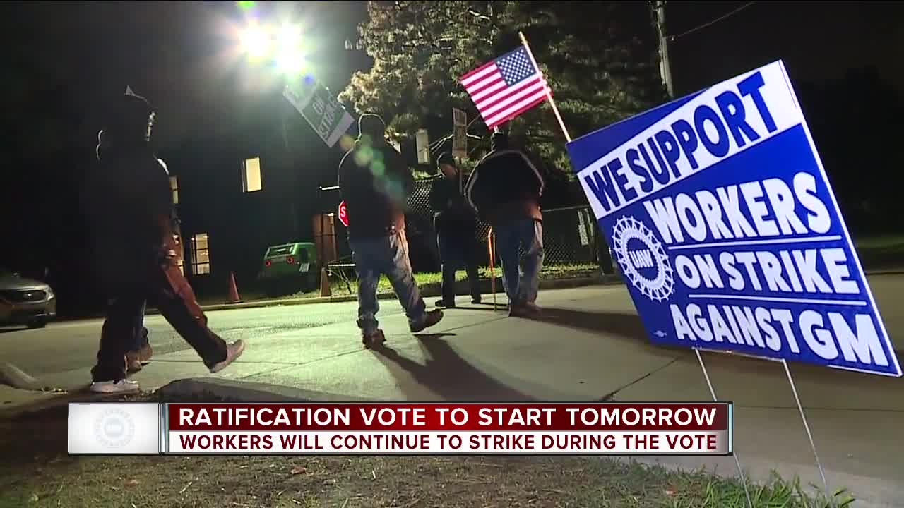 Union members begin vote on UAW-GM tentative agreement today