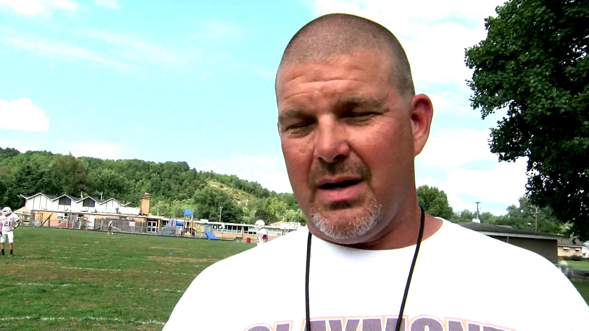 Claymont head coach Eric Henry