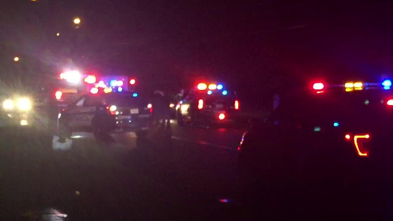 VIDEO: Man, woman hurt in auto-pedestrian accident