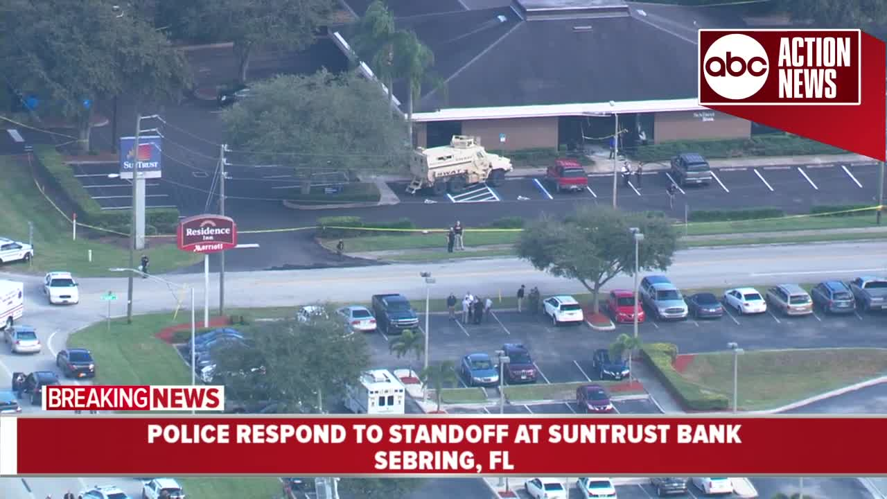 Five women dead after shooting at SunTrust Bank in Sebring