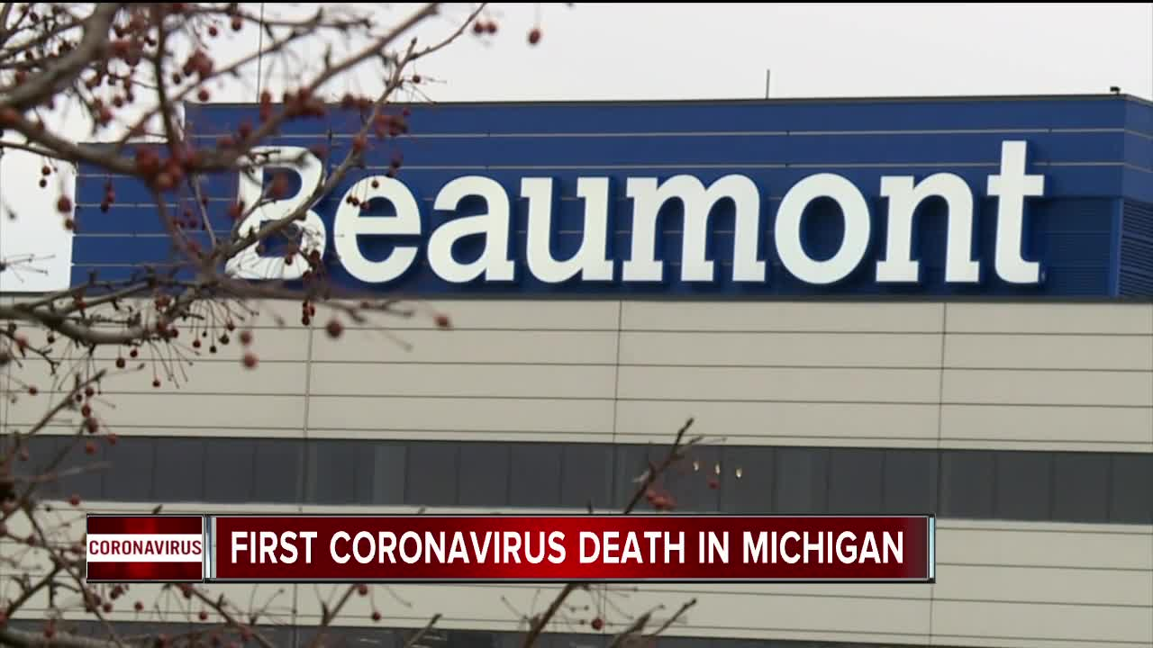 First Death From Coronavirus in Michigan Confirmed