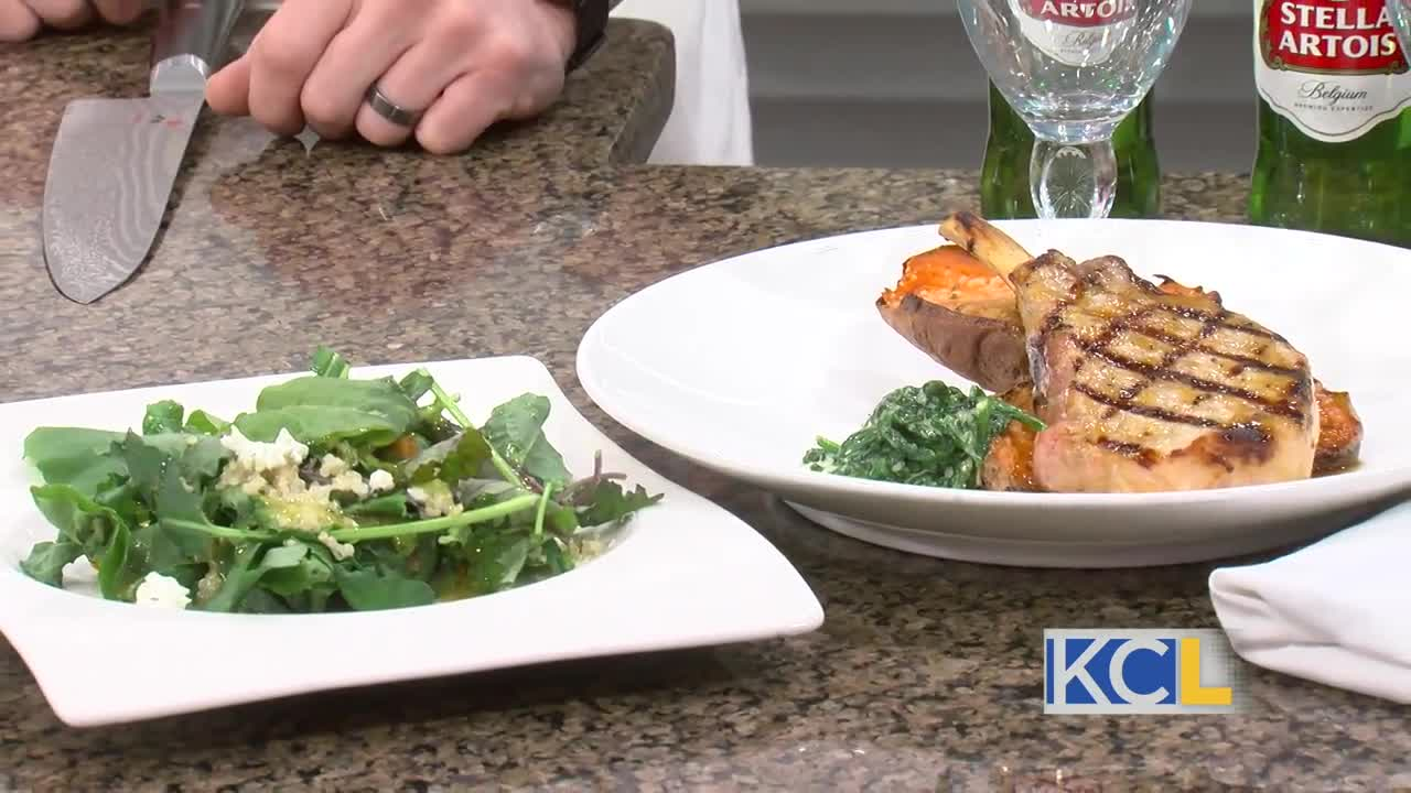 Kc Restaurant Week Pork Chops From Op 1906 Bar And Grille