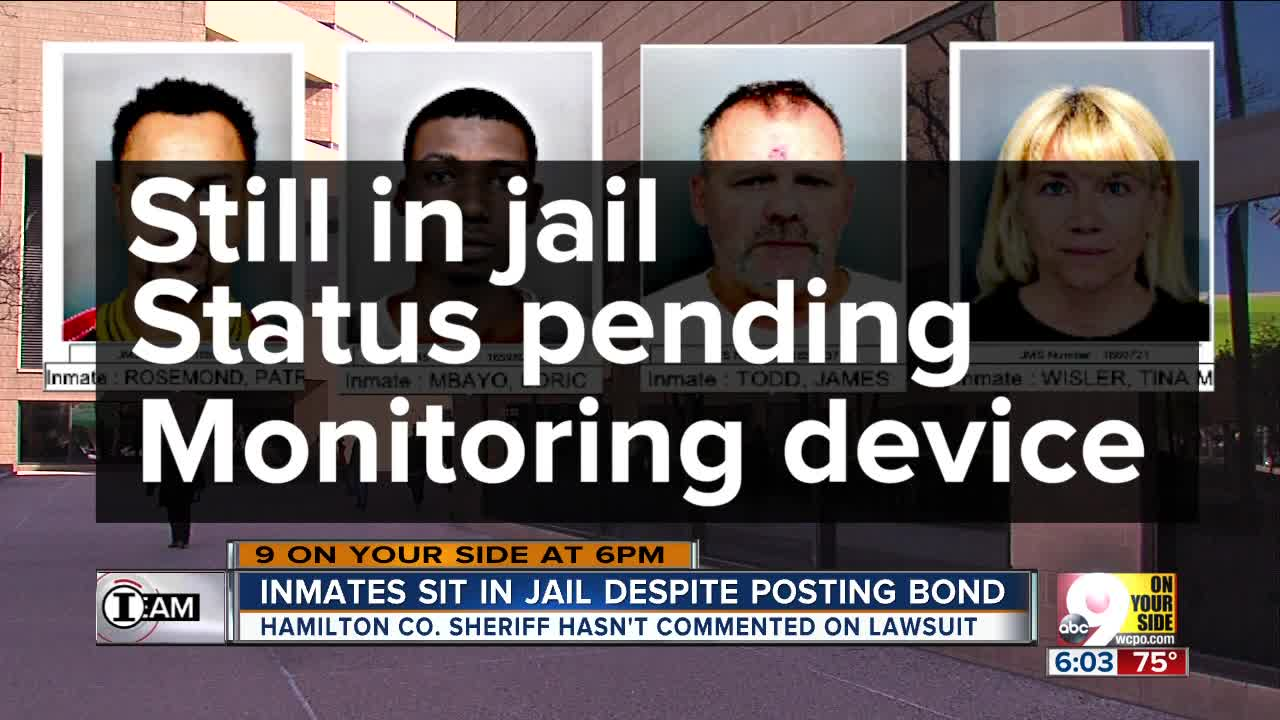 I Team Some Inmates Kept In Hamilton County Justice Center After Posting Bond
