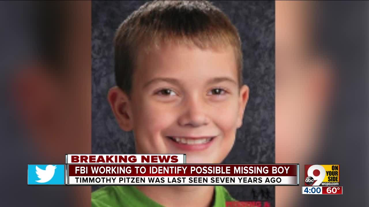 Teenager is not long-missing Timmothy Pitzen
