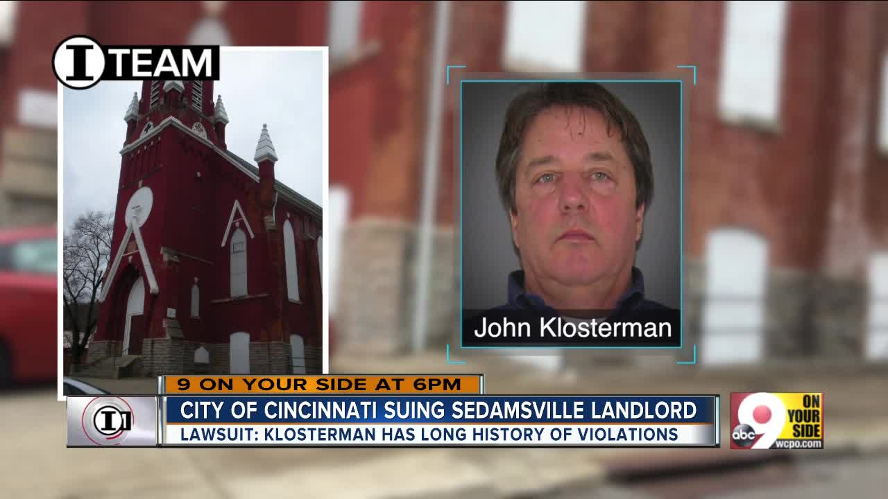 I-Team: Legal problems escalate for Sedamsville 'slumlord'