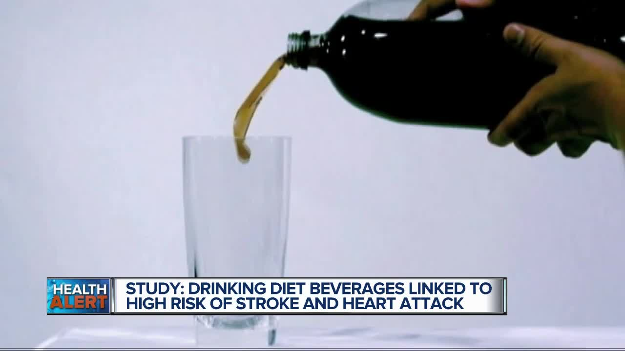 Worrying Study Links Diet Soda To Heart Attacks And Strokes