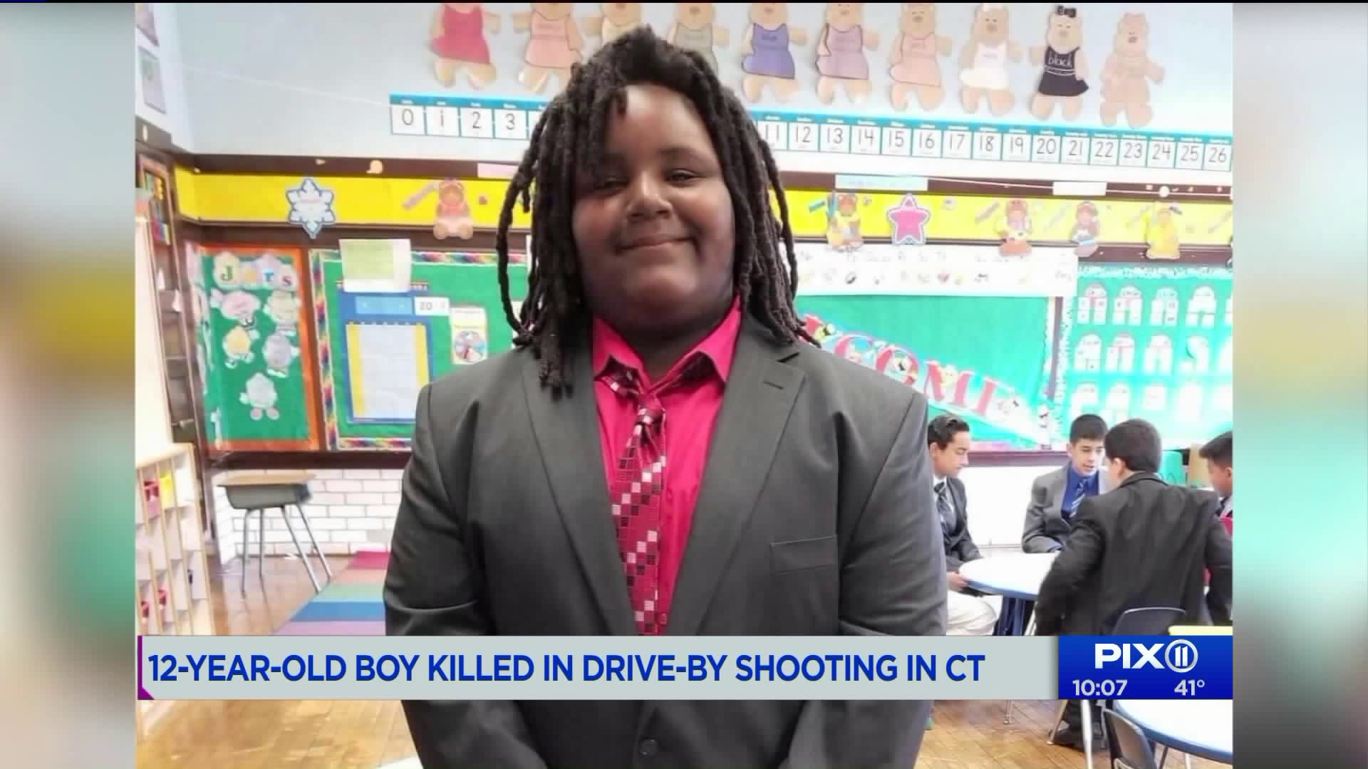 12 Year Old Boy Killed In Connecticut Drive By Shooting