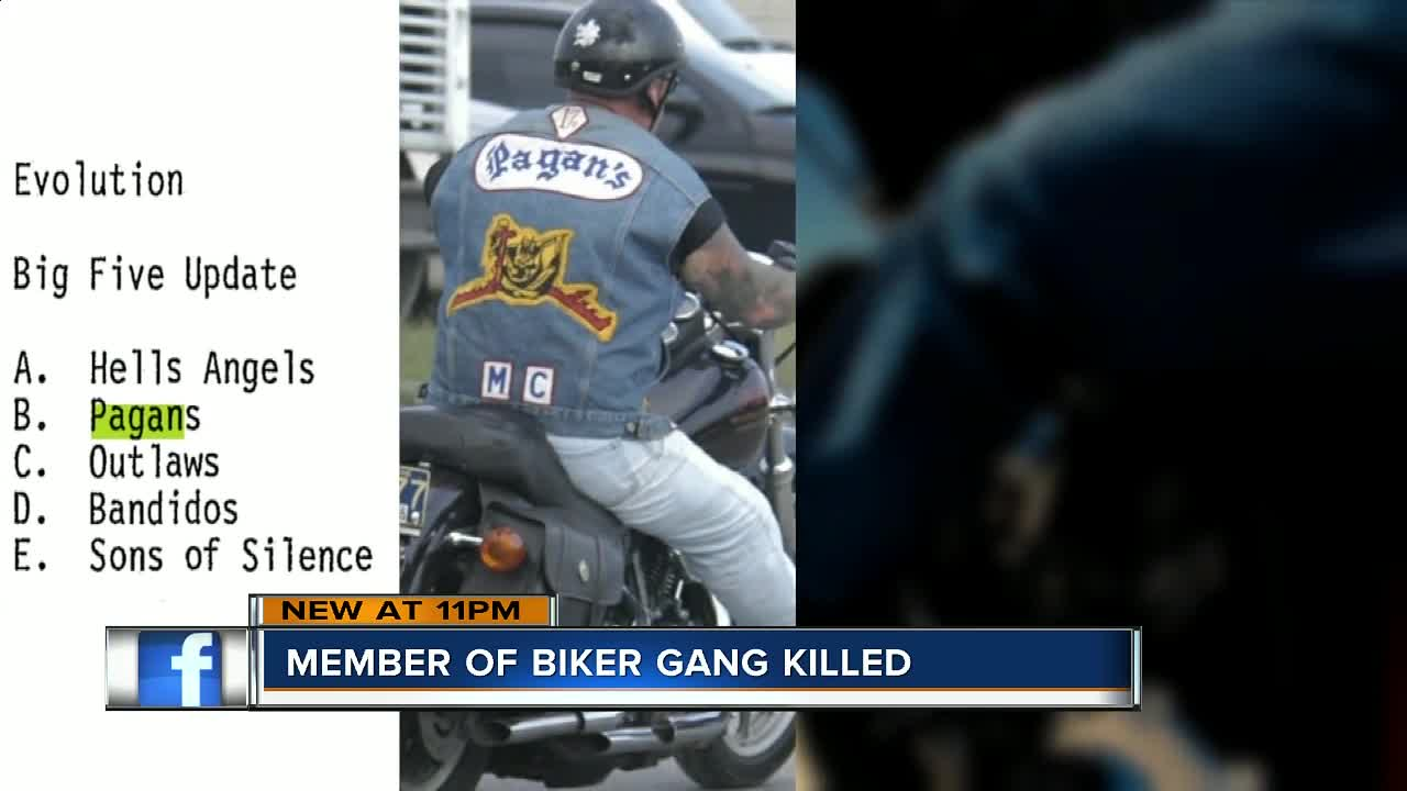 Member of a Pasco County biker gang gunned down outside his home