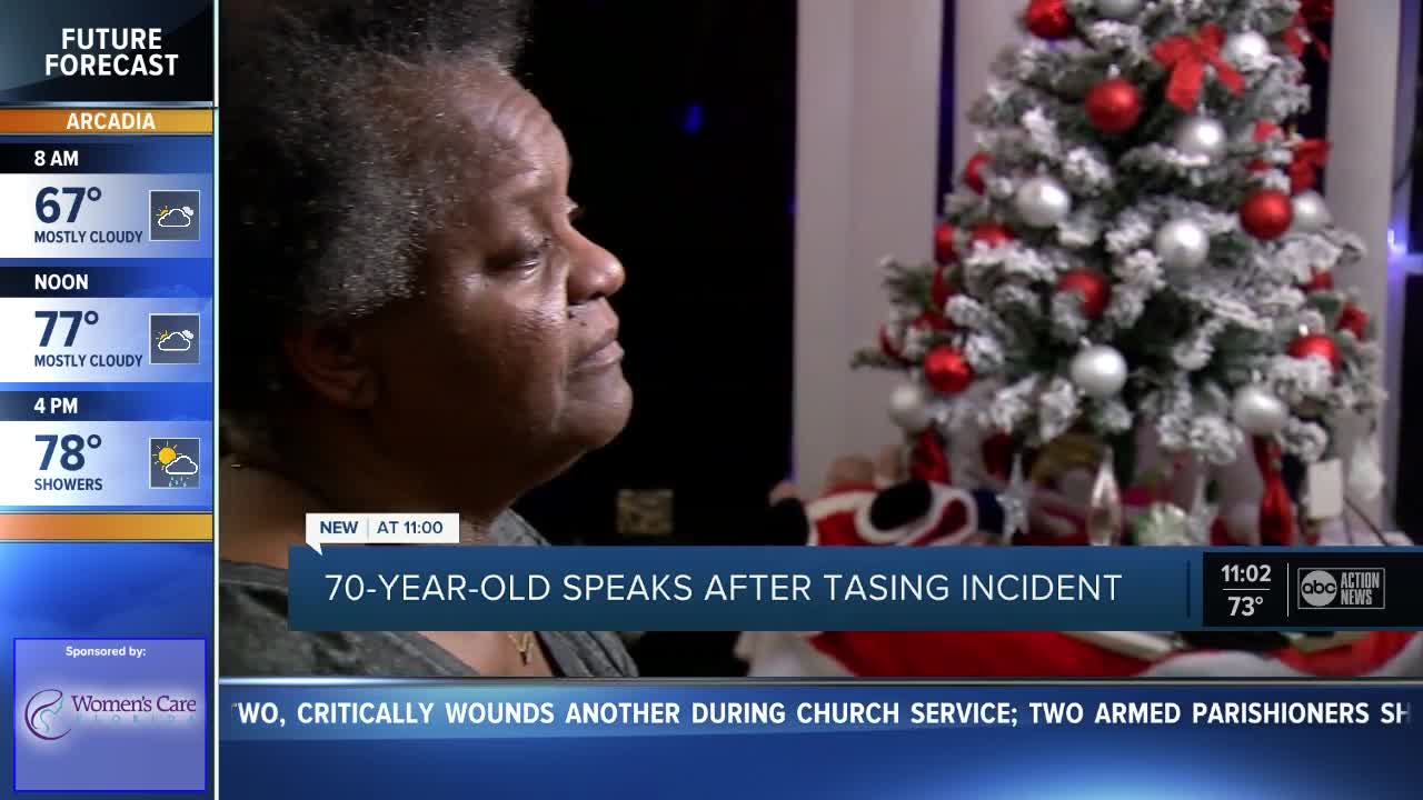 Florida grandmother tased by deputies on 70th birthday