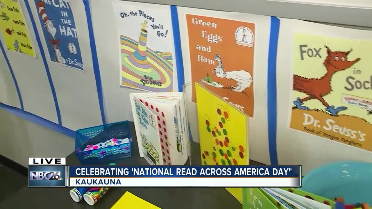 Students celebrate Dr. Seuss's birthday
