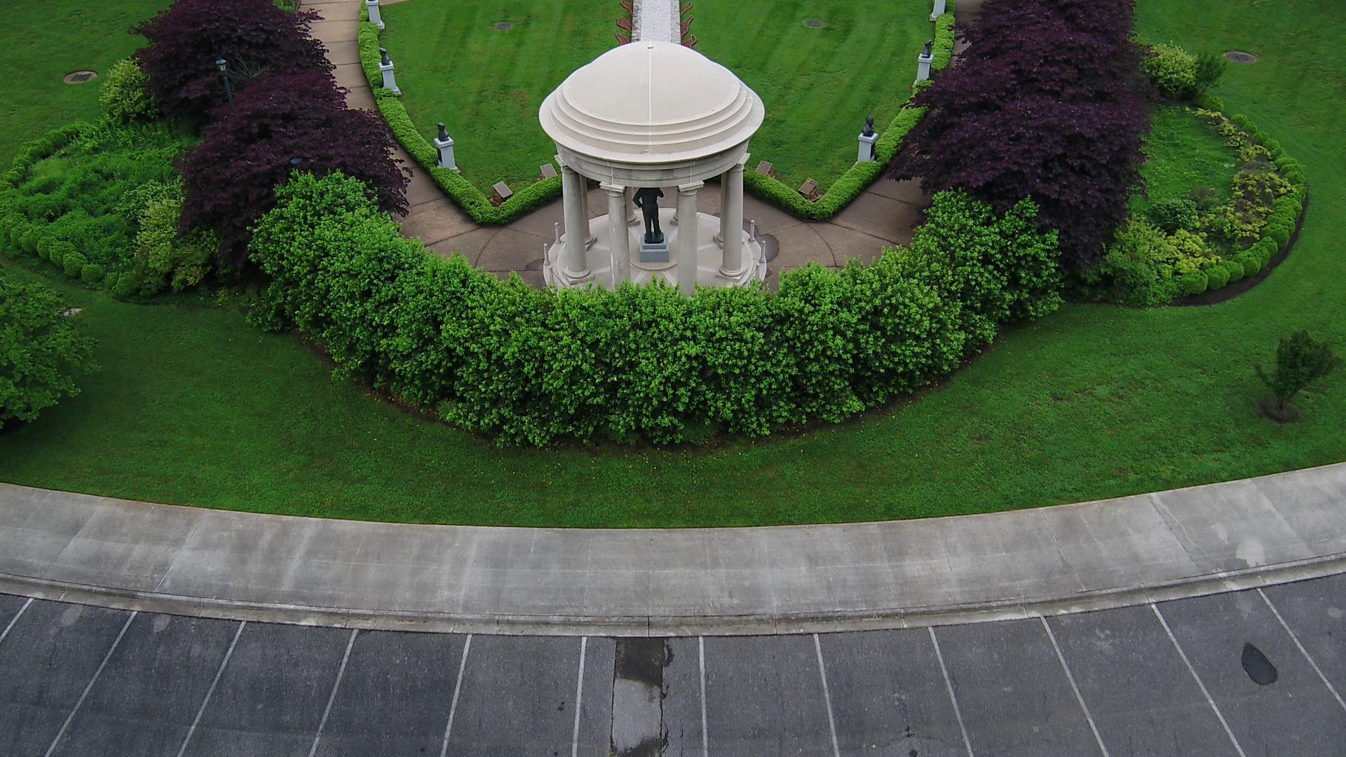 SKY13 over D-Day Memorial