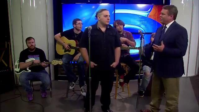 Silence in the Stars performs on noon show
