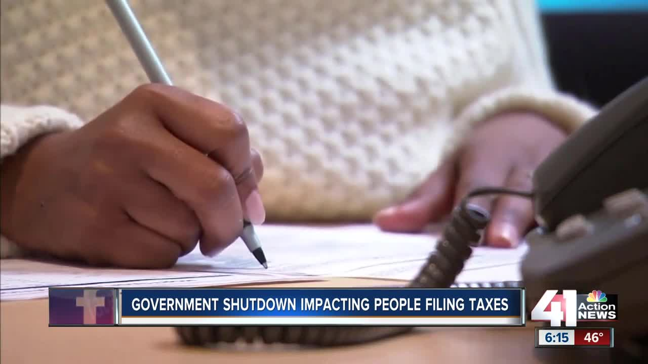 Could the Government Shutdown Delay My Tax Return?