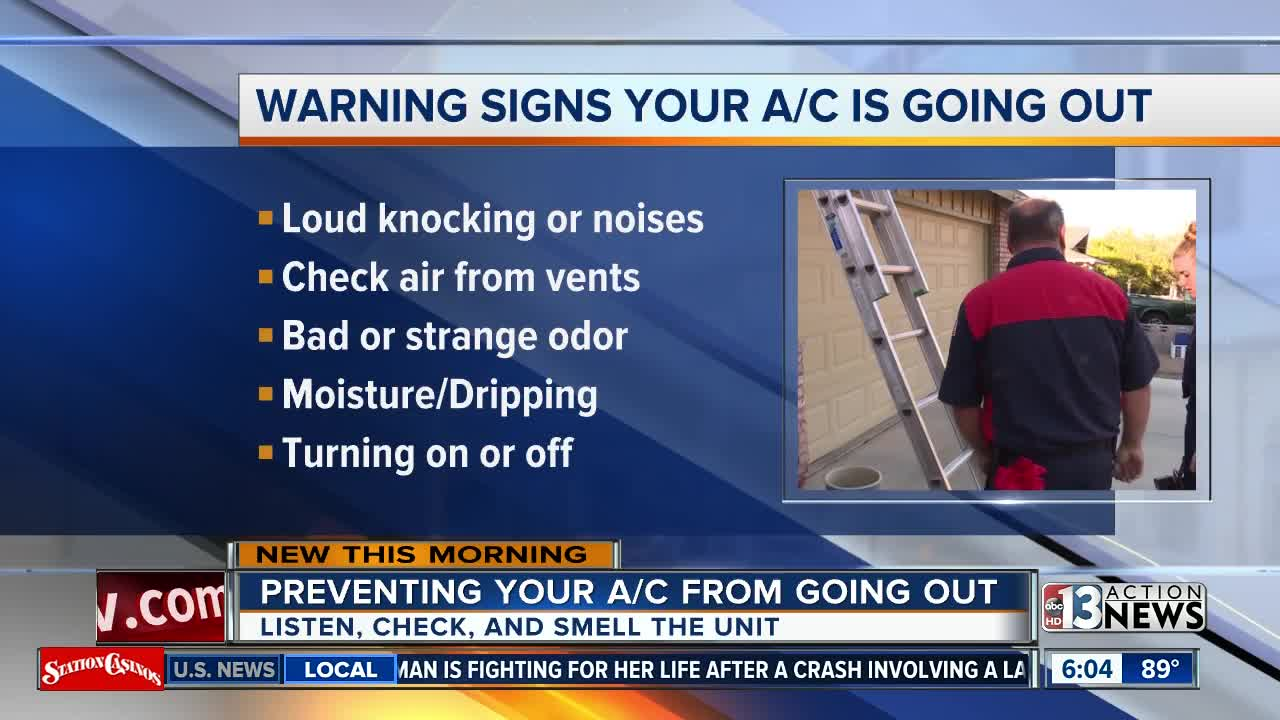 Tips to know when your air conditioner is on the brink of a