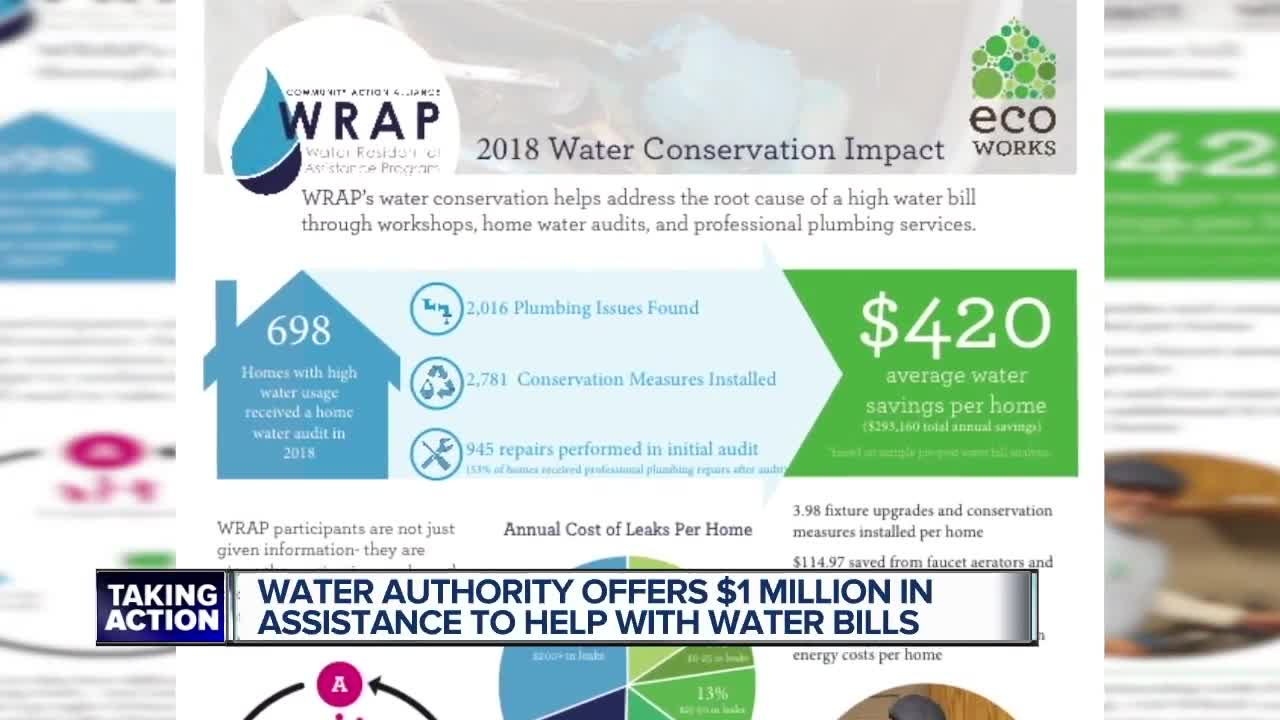 Great Lakes Water Authority offering more than $1 million in