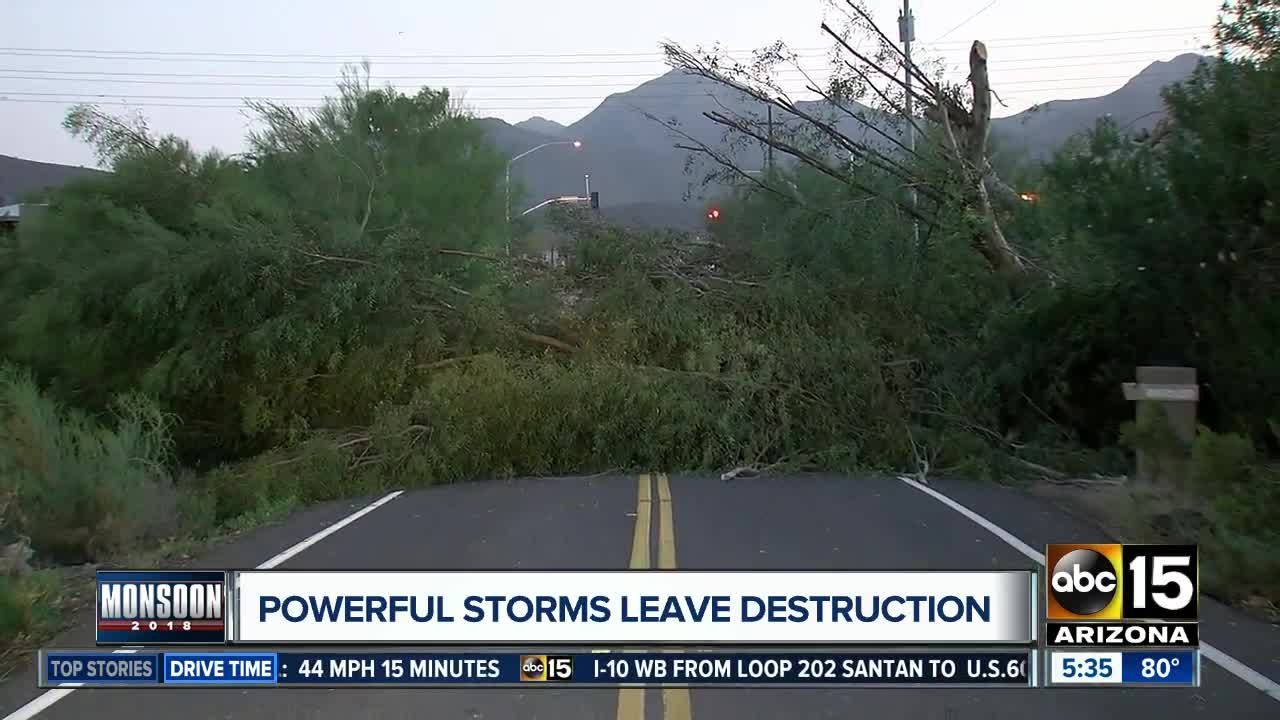 Power Outages More Than 22 600 Lose Power Around The Valley 8 12