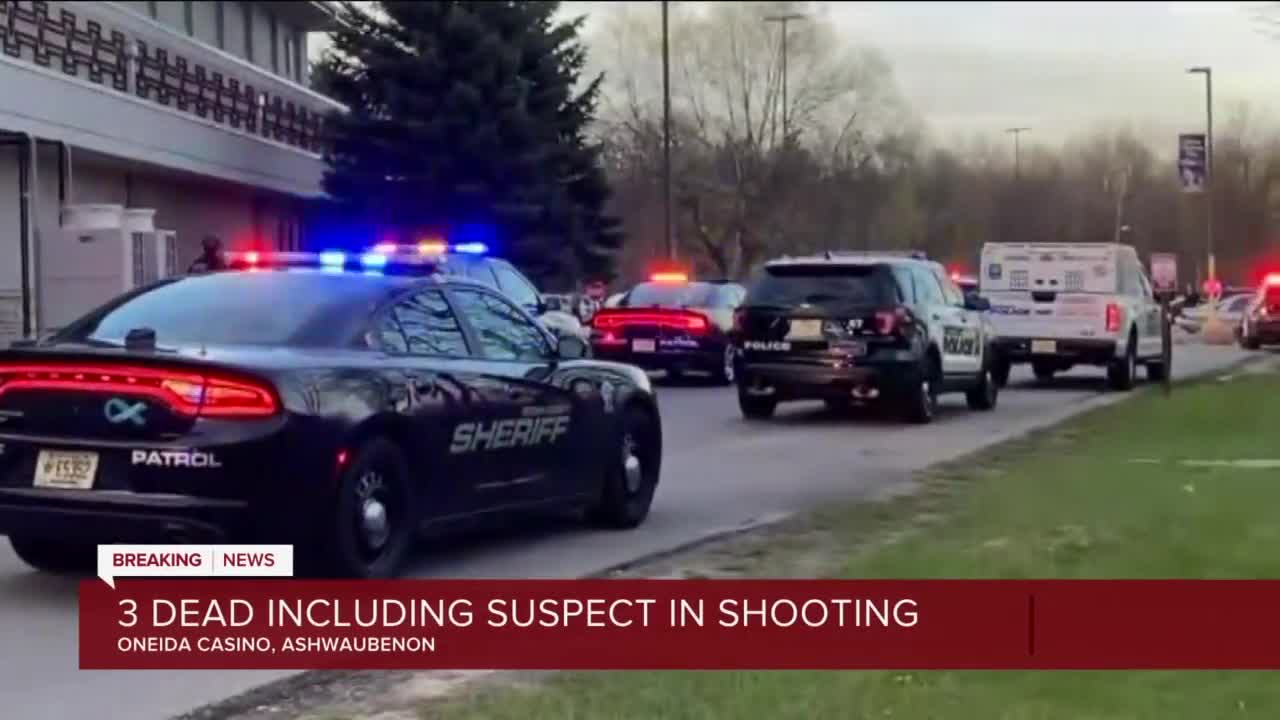 "Three Dead, Including Shooter, In Oneida Casino Shooting"""