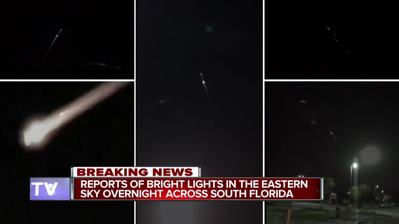 Orange fireball lighting Florida sky was Chinese space junk