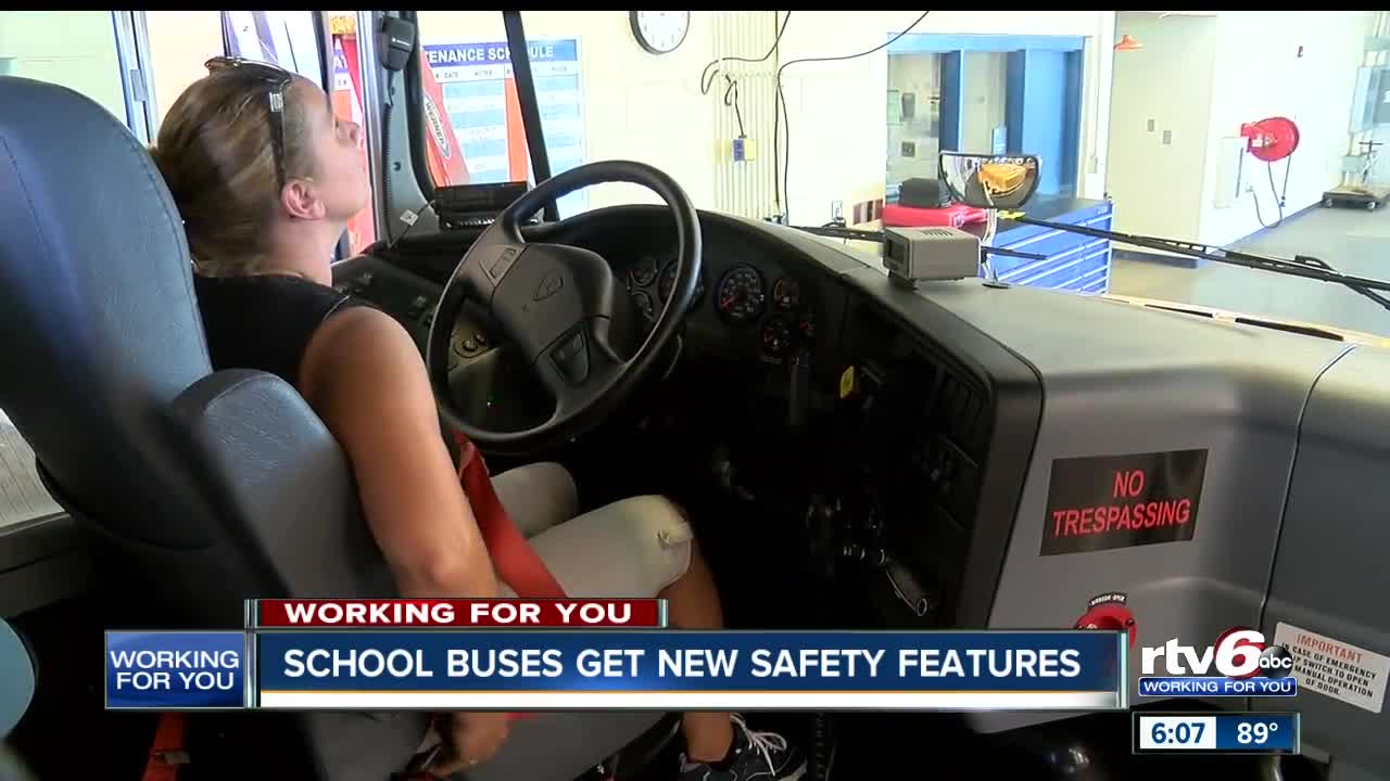Johnson County school district is first in the country to use bus