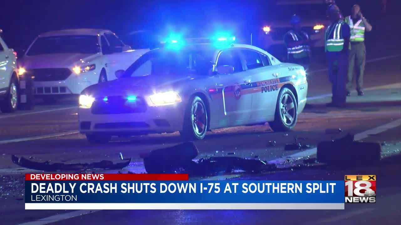 Multiple fatalities,' lanes blocked after fiery I-75 crash
