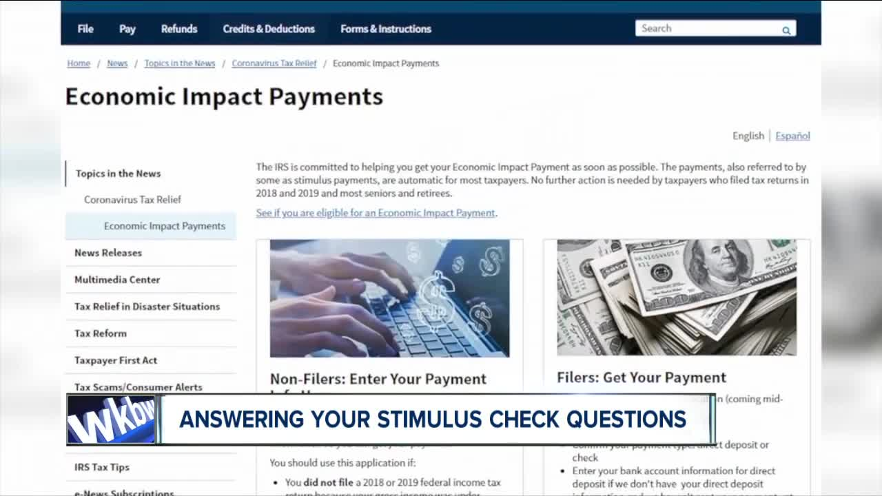 New IRS website allows tracking of coronavirus stimulus payment