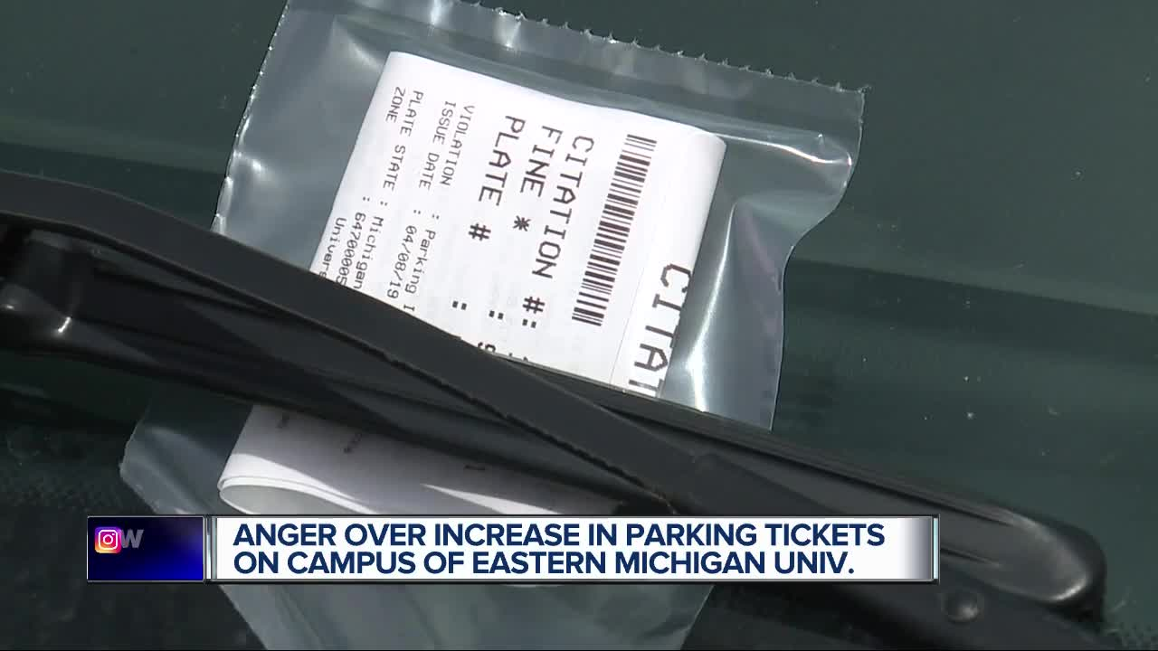 64% more parking violations issued at Eastern Michigan University