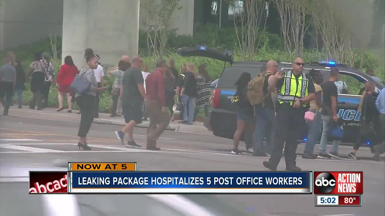 Post Office at Tampa International Airport evacuated due to