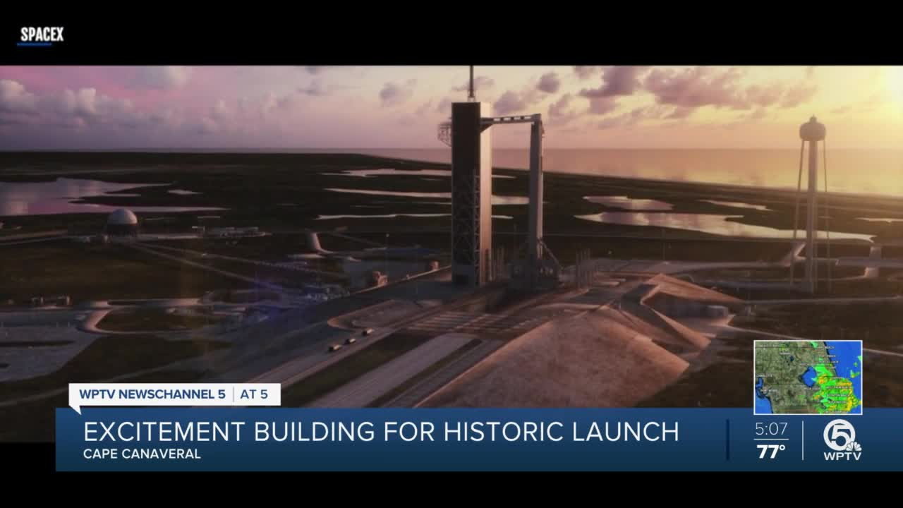 Watch SpaceX Make History Launching Its First-Ever Crewed Spaceflight