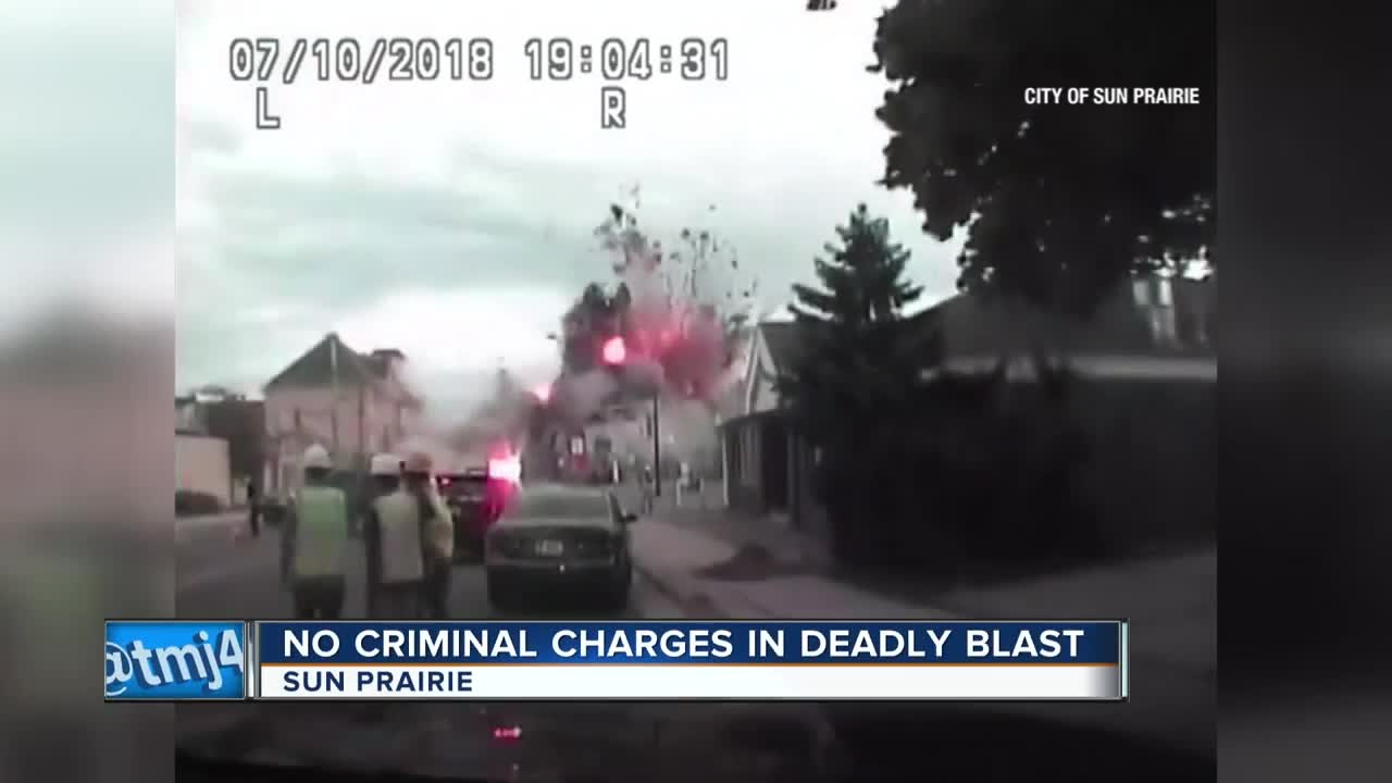 Sun Prairie Police release dash cam video of explosion