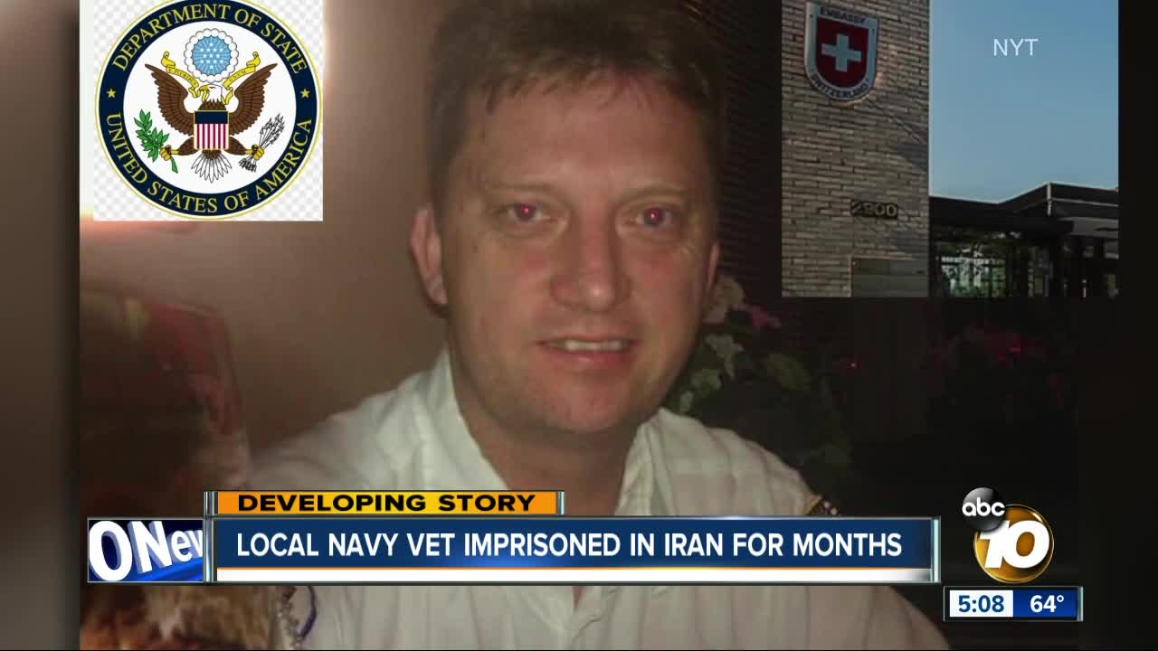US Navy veteran Michael White reportedly jailed in Iran since July