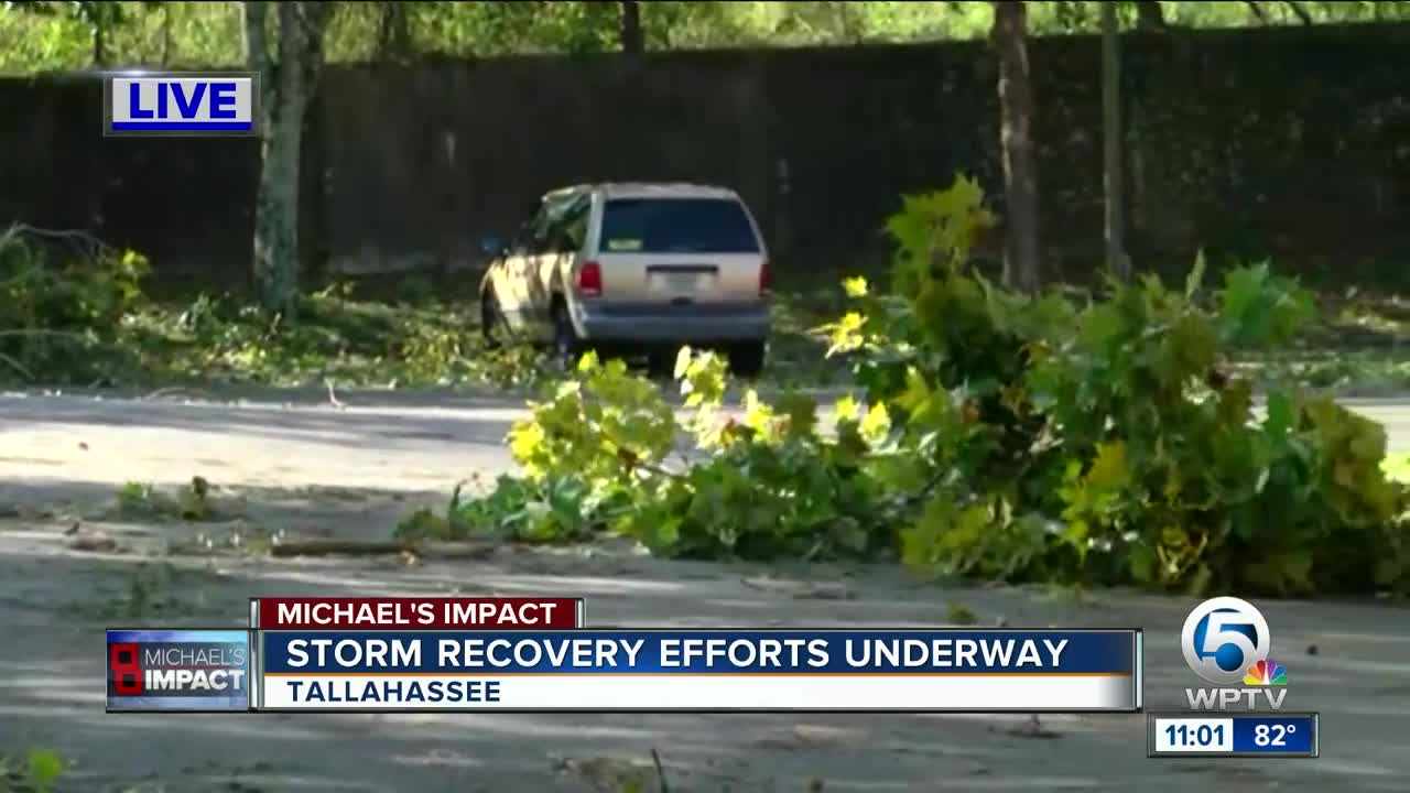 Local power crews ready to help restore electricity to Florida