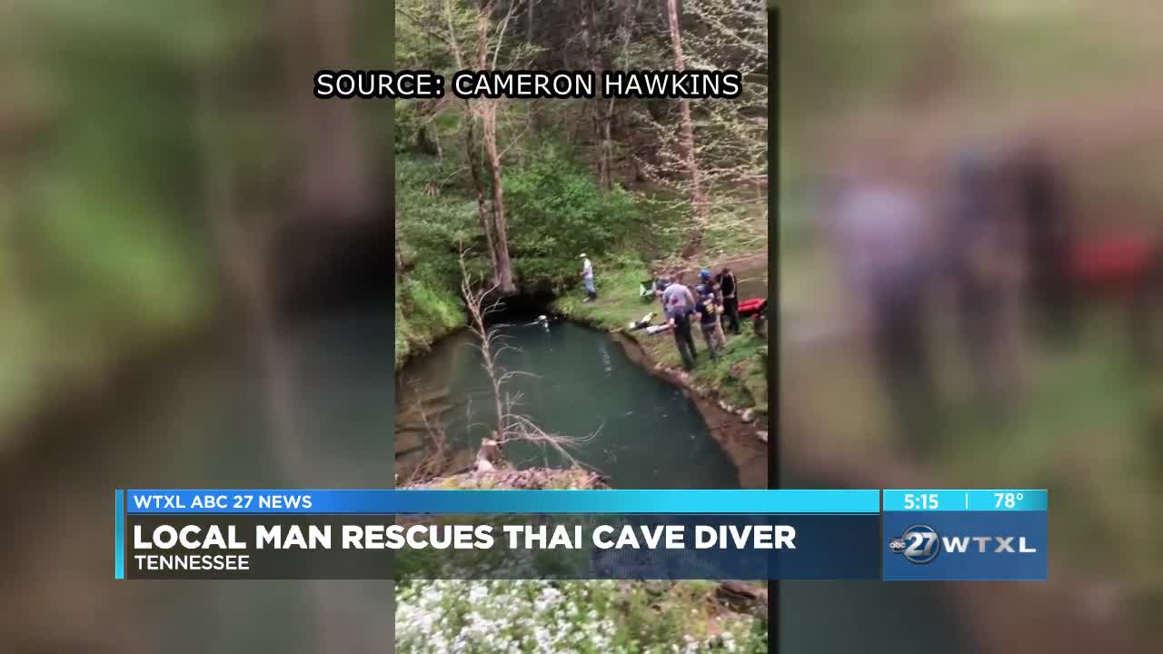 British diver who helped save Thai kids finds himself needing cave rescue
