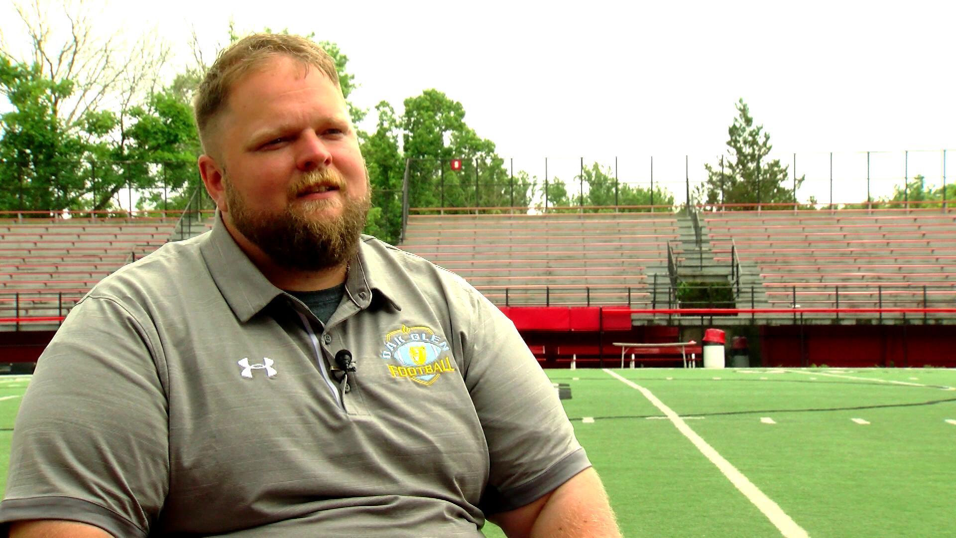 Coach Ted Arneault