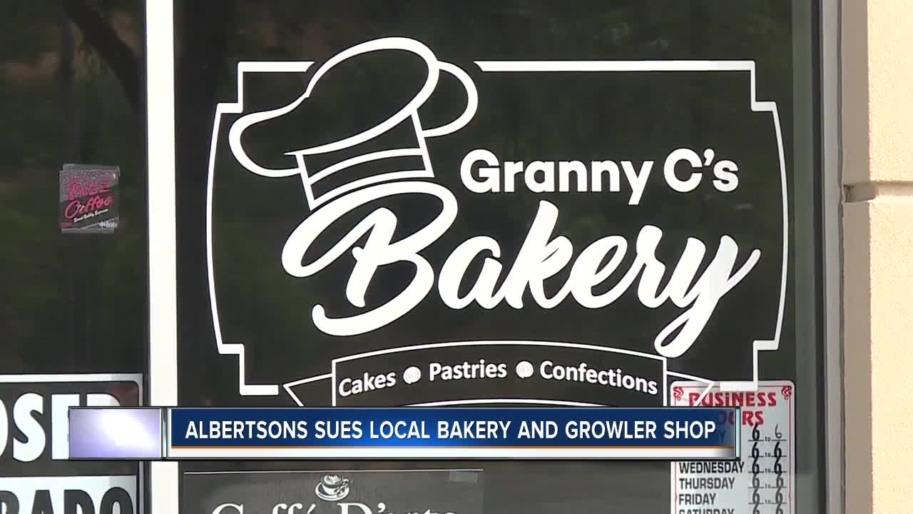 Albertsons drops lawsuit against bakery and growler