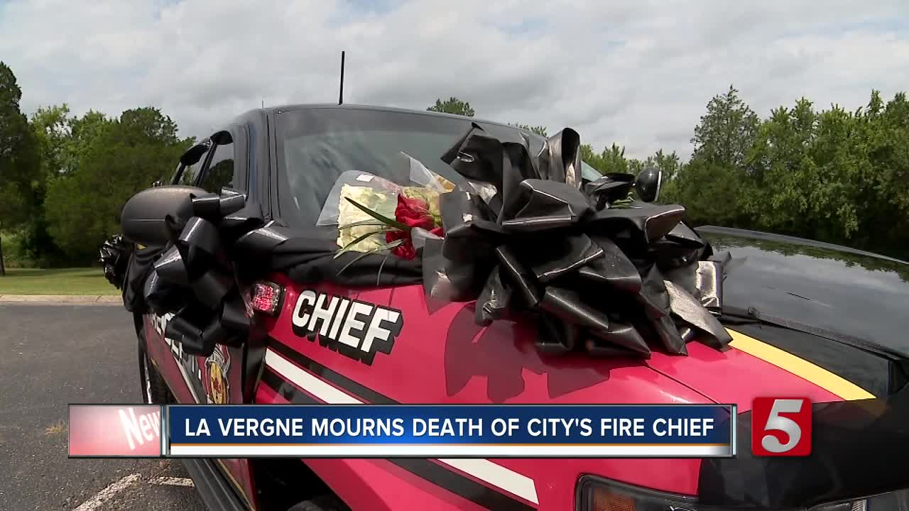 La Vergne Fire Chief Unexpectedly Passes Away