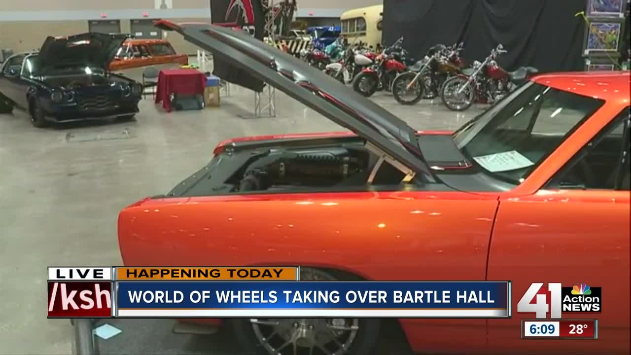 World of Wheels car show brings classics, hot-rods and Dale