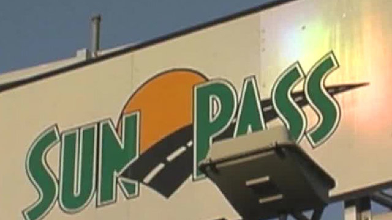 Sunpass Driver Frustrated With Late Bill