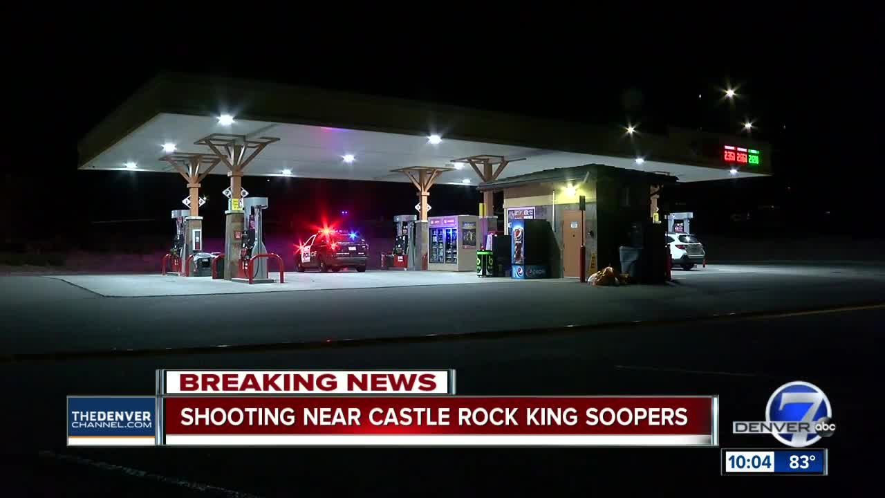 Man injured in shooting at King Soopers gas station in Castle Rock