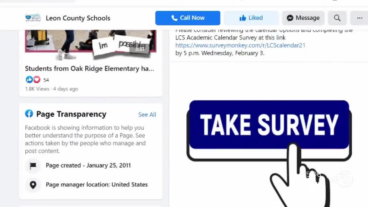 Leon County Schools seeks input for upcoming calendars