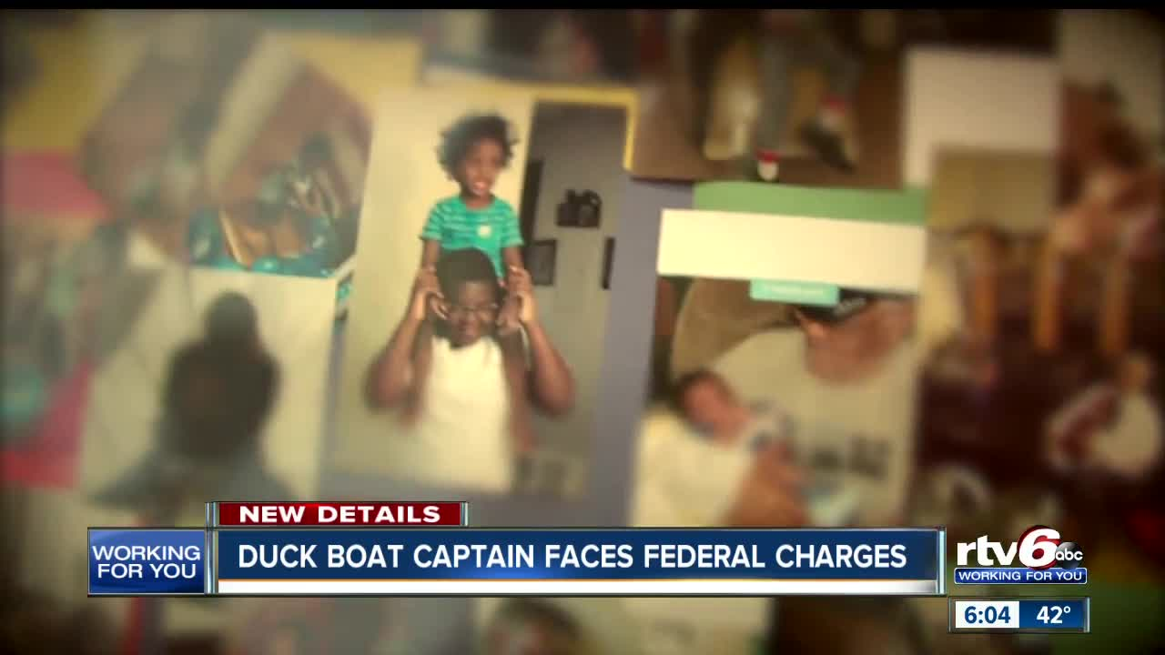 Missouri tour boat captain indicted for sinking that killed 17