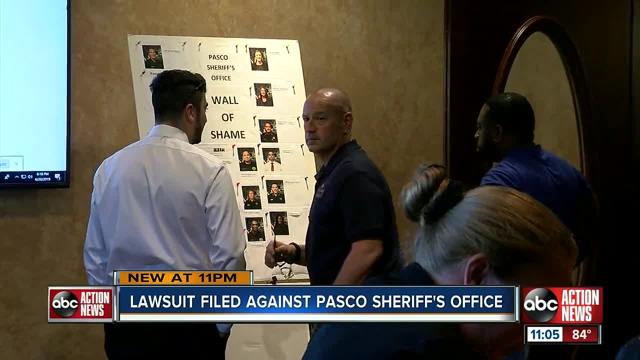 Lawsuit accuses Pasco County Sheriff's Office of being 'intoxicated