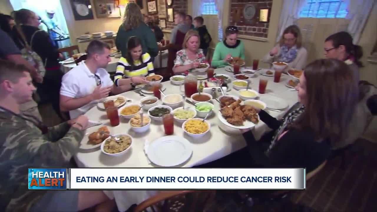 Ask Dr  Nandi: Eating dinner earlier could reduce cancer risk